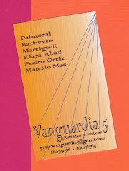 Tarjeta de visita del Grupo Vanguardia 5