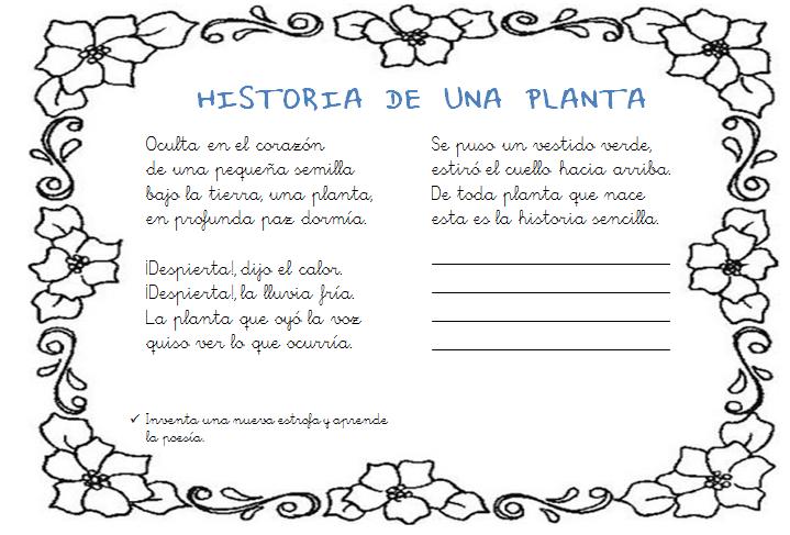 Poesias Relacionadas Con Las Plantas | newhairstylesformen2014.com