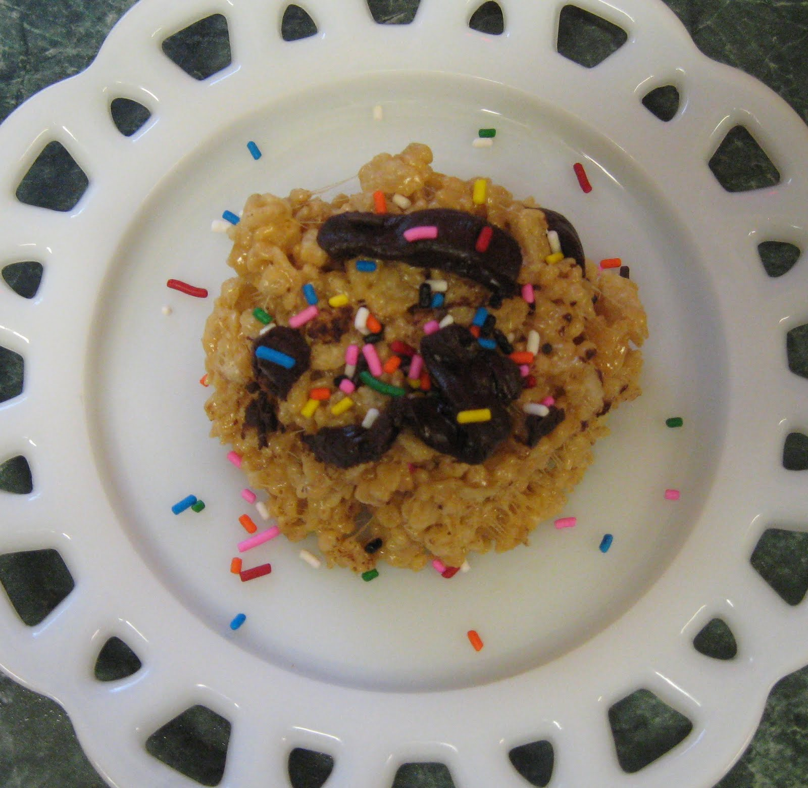 ... Dinner... Healthy & Low Calorie: Salted Brown Butter Crispy Treats
