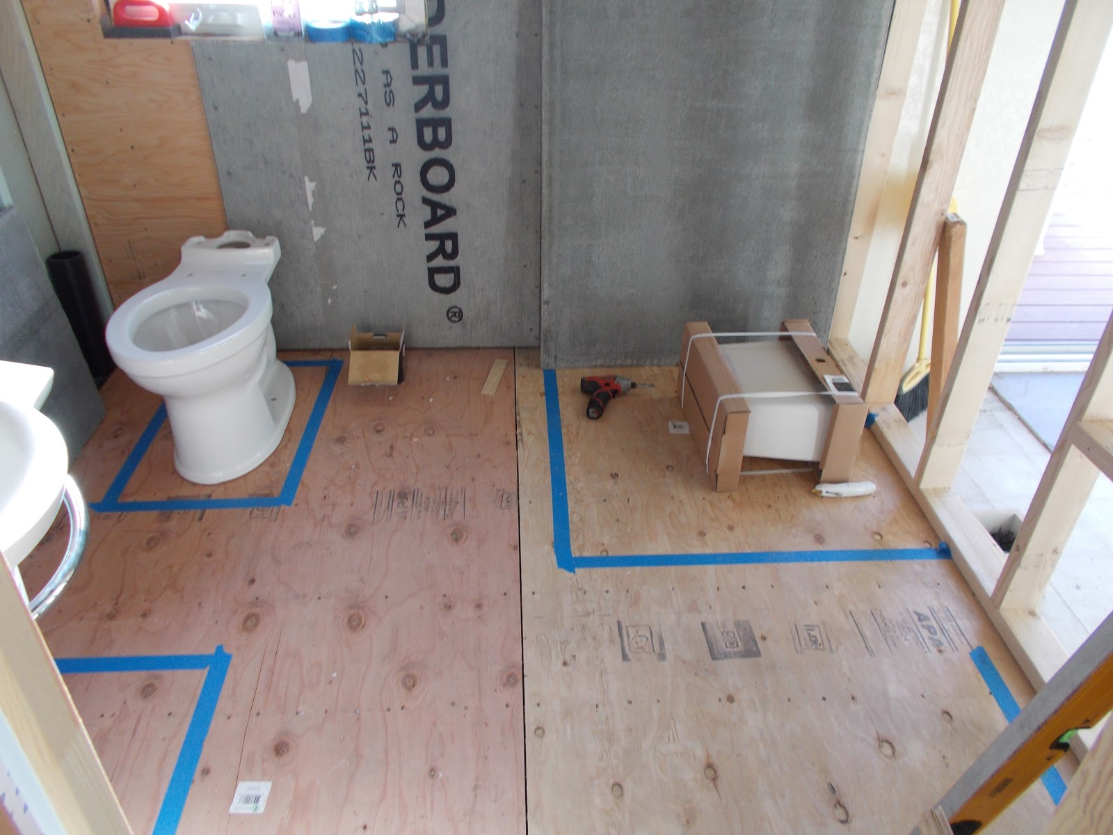 Back Bathroom Floor Plan Revisions