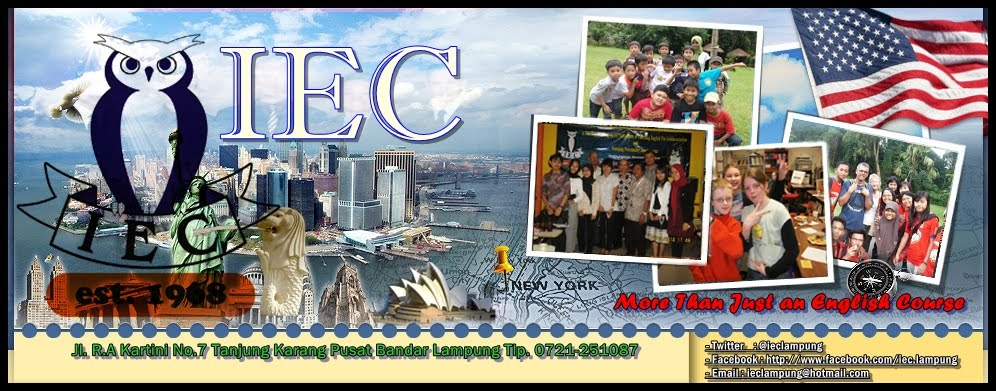 Recruitment Intenve English Course (IEC)