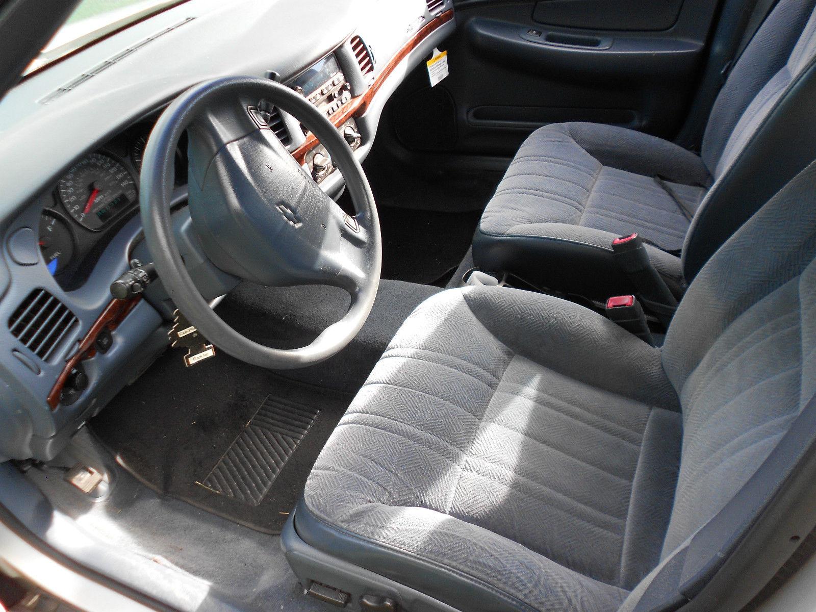 Daily Turismo 5k 9c1 Police Special 2002 Chevrolet Impala Sedan