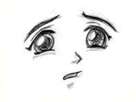 Contoh-contoh Ekspresi Anime dan Manga