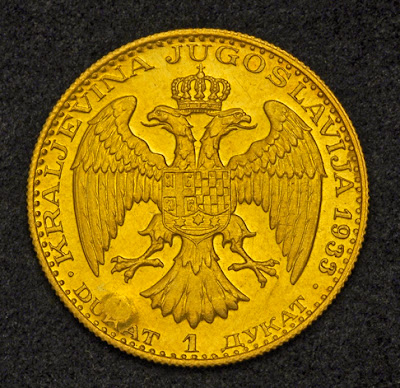 Yugoslavian Gold Coins Ducat