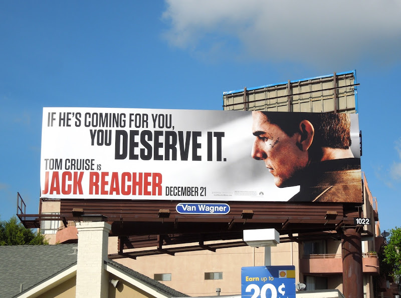 Jack Reacher billboard