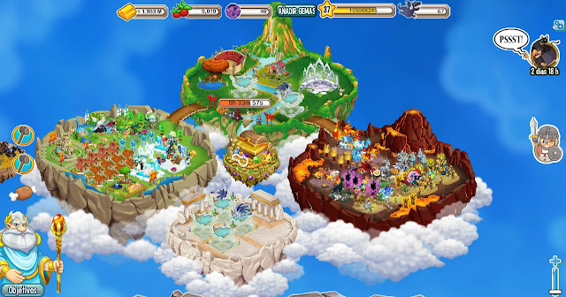 todas las islas de dragon city