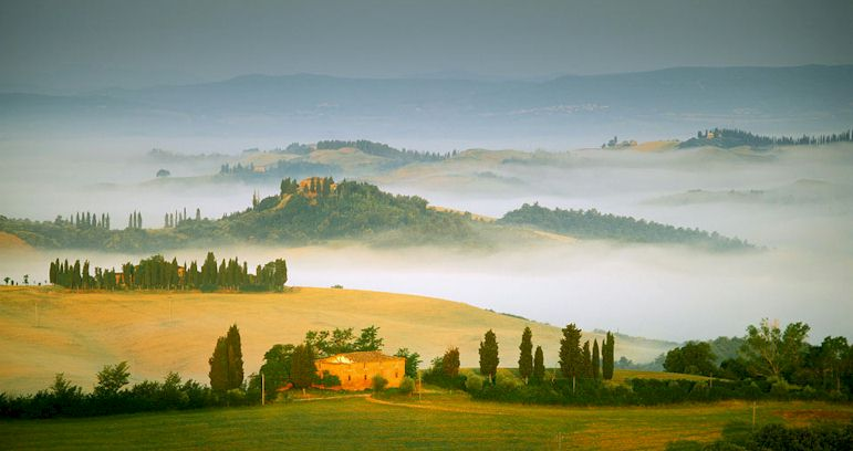sights and attractions of the val d orcia in tuscany italy