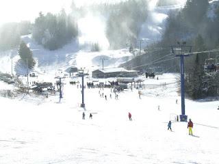 Skiing in Muskoka