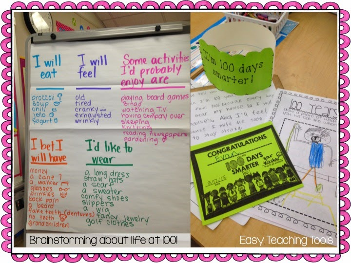 easy teaching tools, teaching, school, 100 days of school