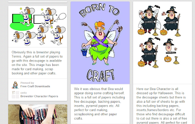 Free Craft Downloads on Pinterest