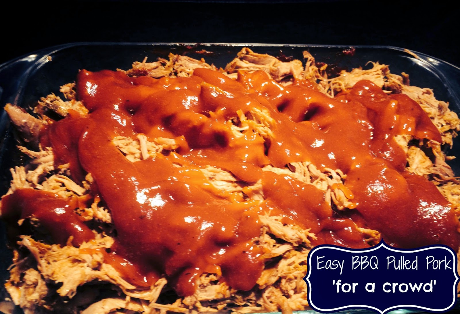 Easy bbq pulled pork for a crowd aunt bee s recipes