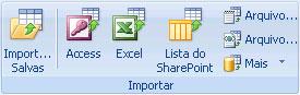 Access importando dados