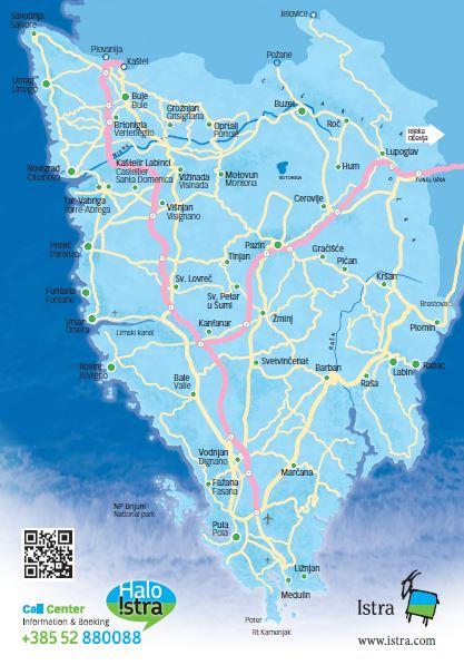 Istria Road Trip Map Adriatic Road Trip
