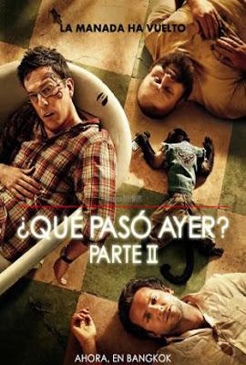 Qué Pasó Ayer 2 - online 2011 - Comedia
