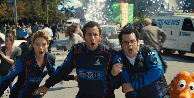"""Veja o insano e divertido segundo trailer de """"Pixels"""", com Adam Sandler e Peter Dinklage"""