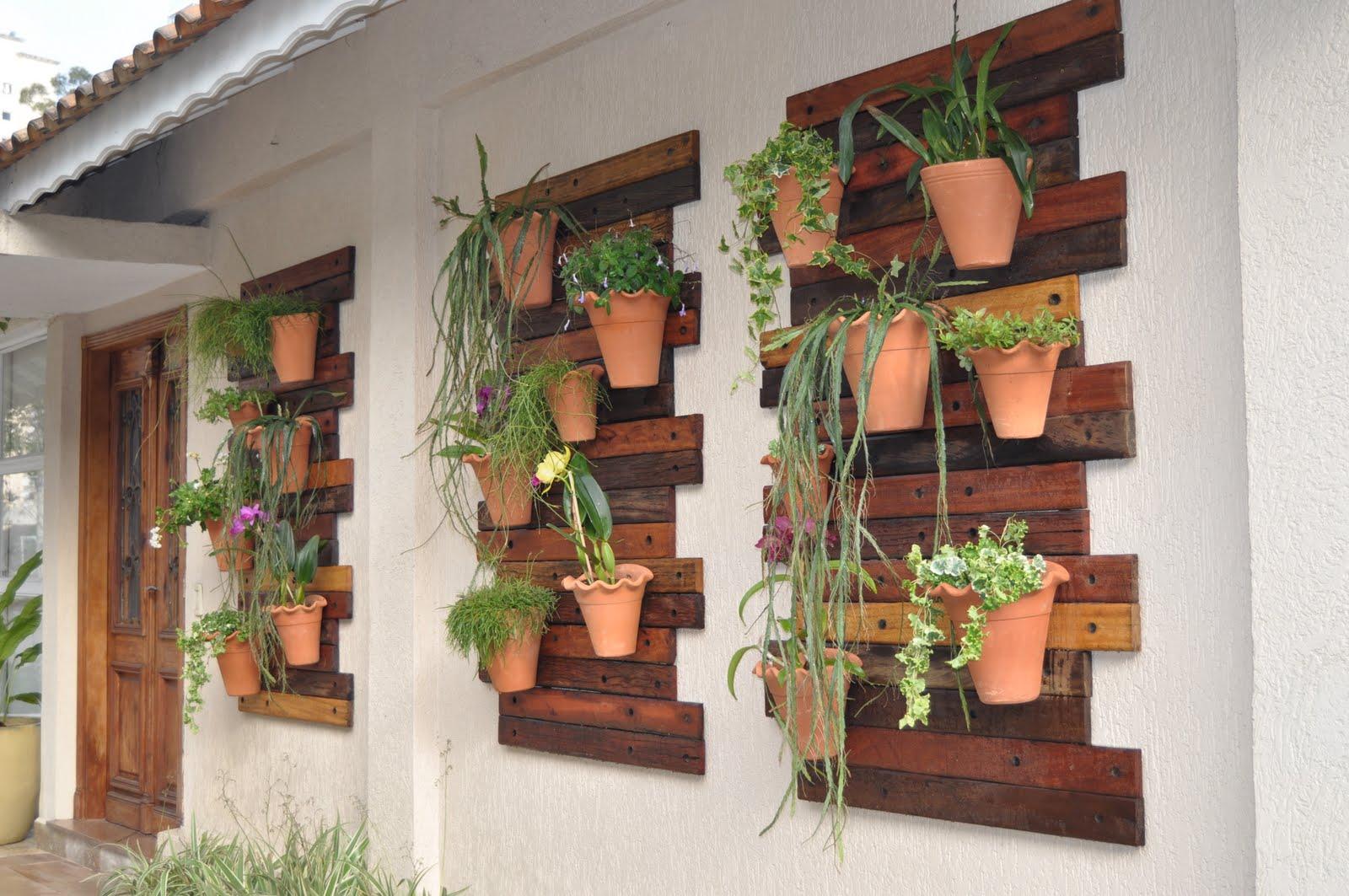 inspiração e diversão: jardim vertical #935C38 1600x1063 Banheiro Com Jardim Vertical