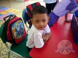 Hari Pertama Adik Ke Sekolah