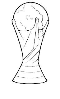 Desenho como desenhar A Raposa e jogador com taça da copa pintar e colorir