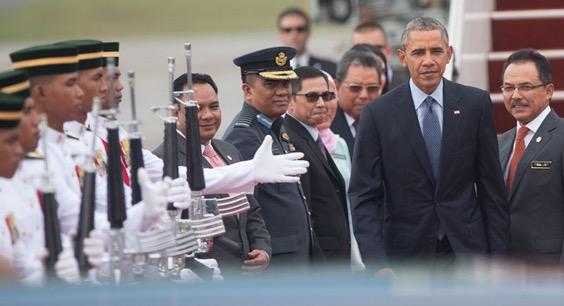Apa yang Obama buat dan katakan di KL?