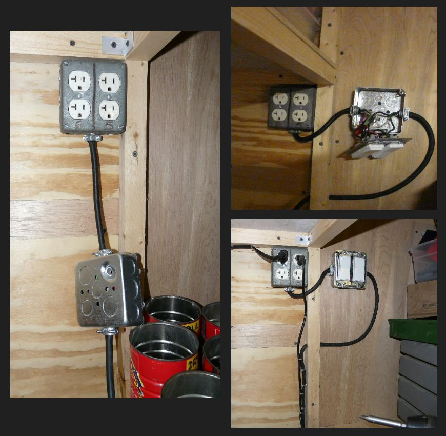 my stealth cargo trailer switched outlets rh stealthcargotrailer blogspot com wiring a cargo trailer for 110 volts wiring diagram cargo trailer