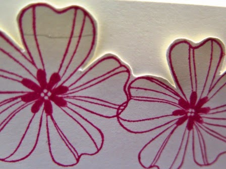 Fussy cut close up  Zena Kennedy Independent Stampin Up demonstrator