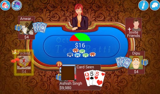 Teen Patti Game Play Preview