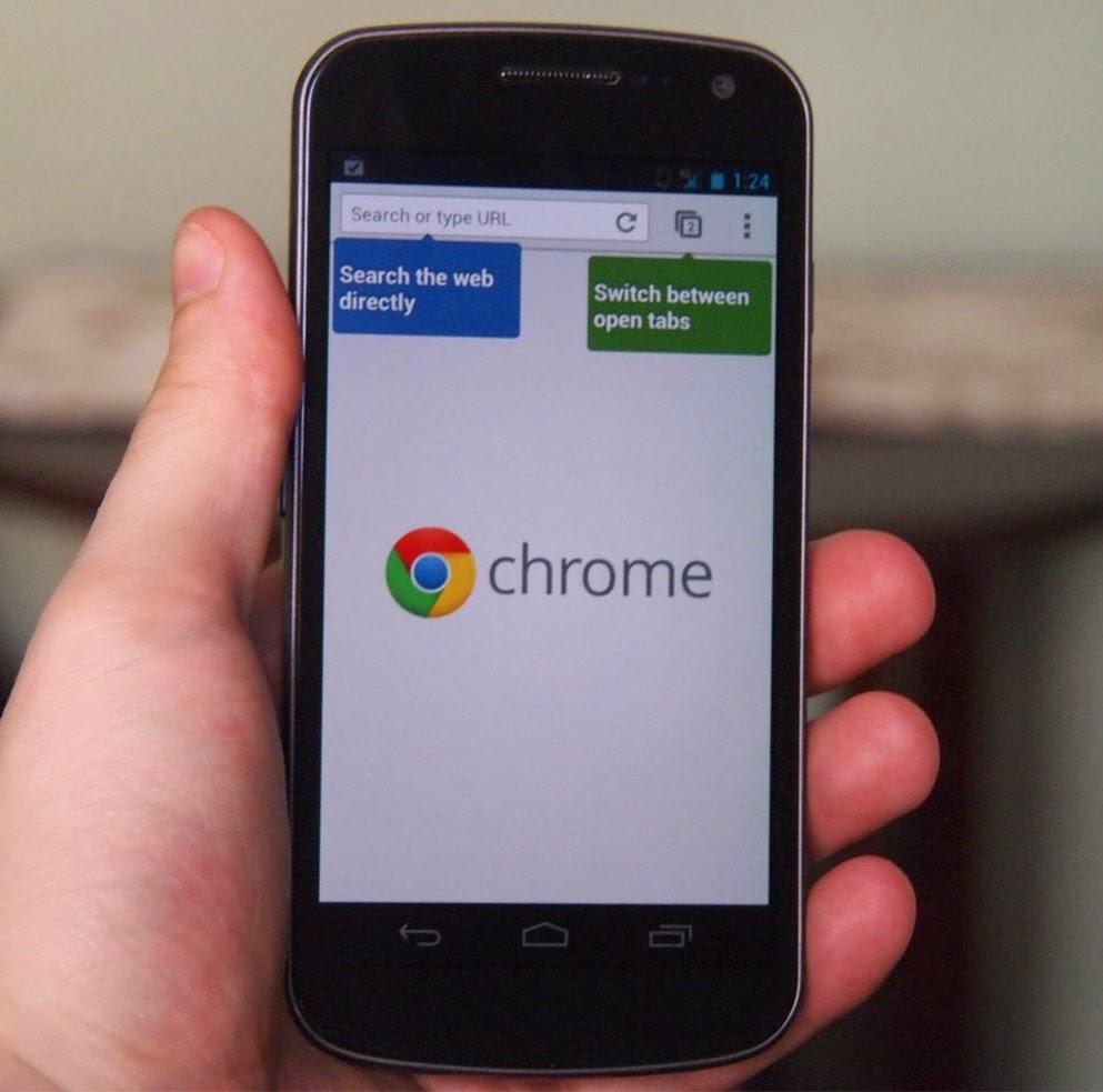 Beberapa Fitur Untuk Kenyamanan Browsing Di Ponsel Android