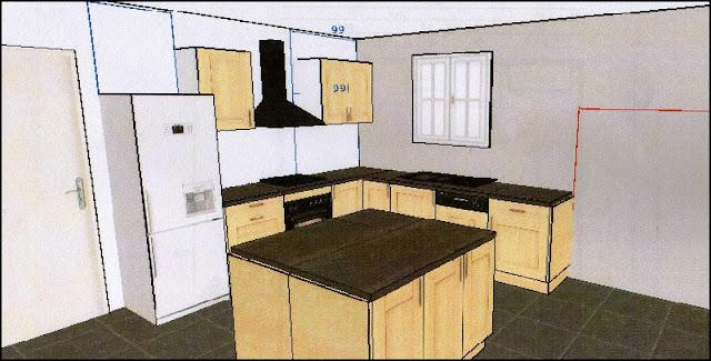 Taille plan de travail cuisine photos de conception de for Taille plan de travail cuisine