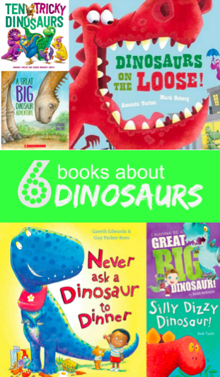 6 awesome picture books about dinosaurs