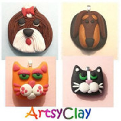 Click on photo to visit my new website! artsyclay.com