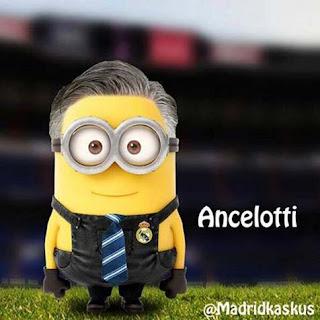 Minion Carlo Ancelotti