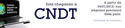 cndt, debitos trabalhistas, banco nacional de devedores, tst, empresas