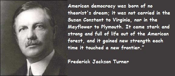 what was frederick jackson turners thesis about the american west and expansion