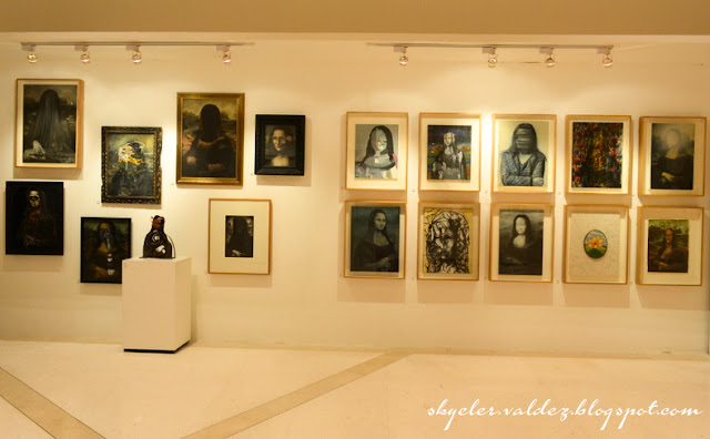 Mona Lisa Project - Art Exhibit - Solaire Resort and Casino