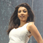Kajal Agarwal in White Dress  Photo Gallery
