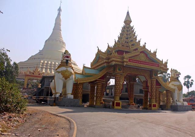 Global Vipassana Pagoda at Manori