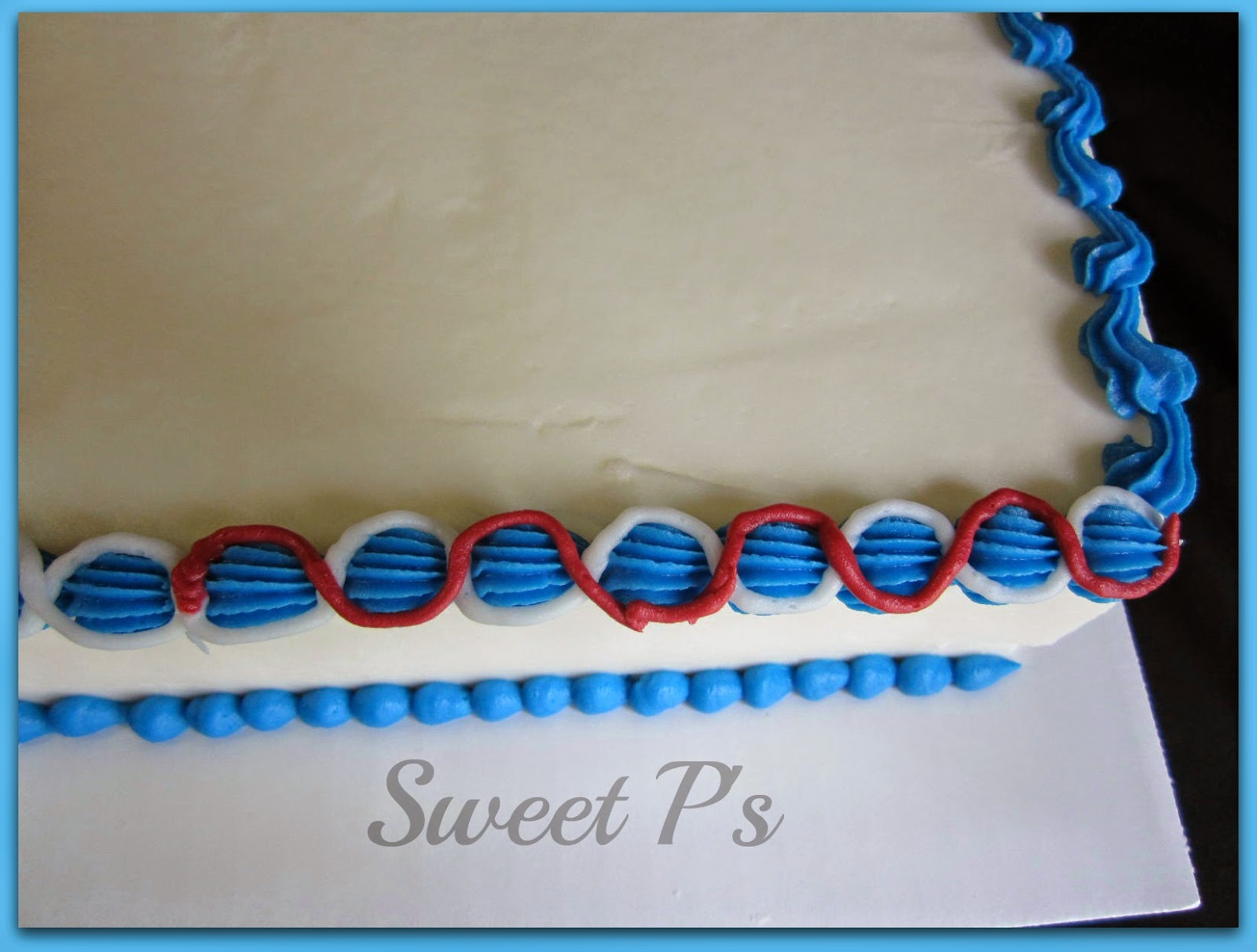 Cake Decorating Borders : Simple Buttercream Borders Sweet P s Cake Decorating ...
