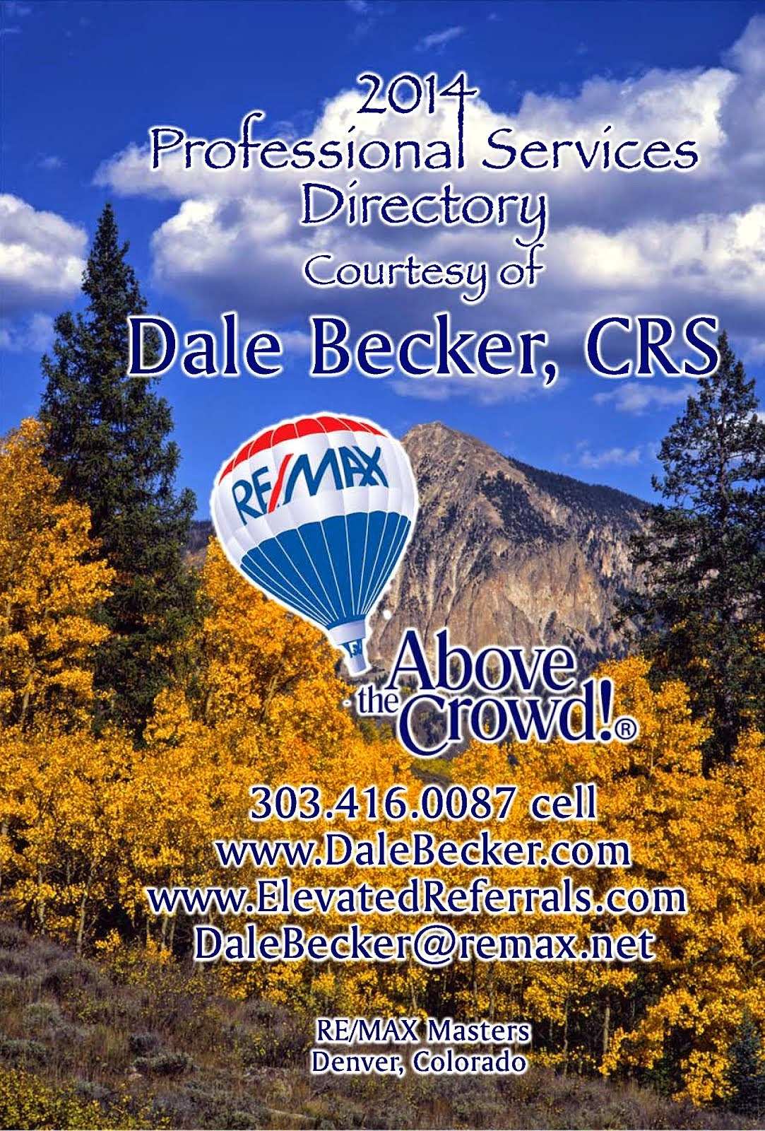 Dale Becker's 2014 Professional Services Directory