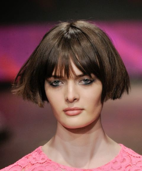 Hair style - Short bob or hawk - vote for your favorite Fashion Week crop