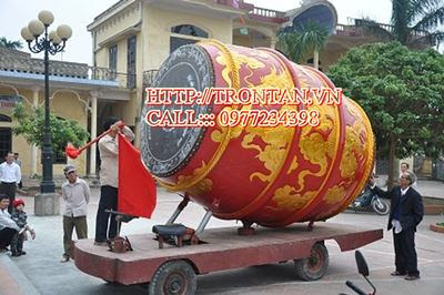 trống gỗ , trong go