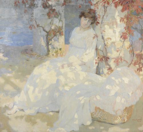 Symphonie en blanc de Frans Van Holder