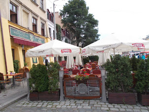 Kazimierz District of Krakow.A former  bustling Jewish locality before World War II
