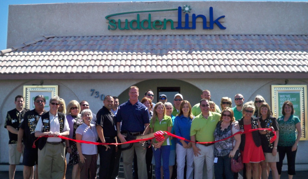 Lake havasu area chamber of commerce newsfeed ribbon for Suddenlink customer service