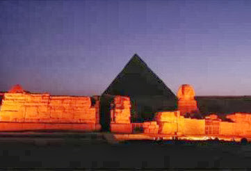 Sound and Light Show at Giza,