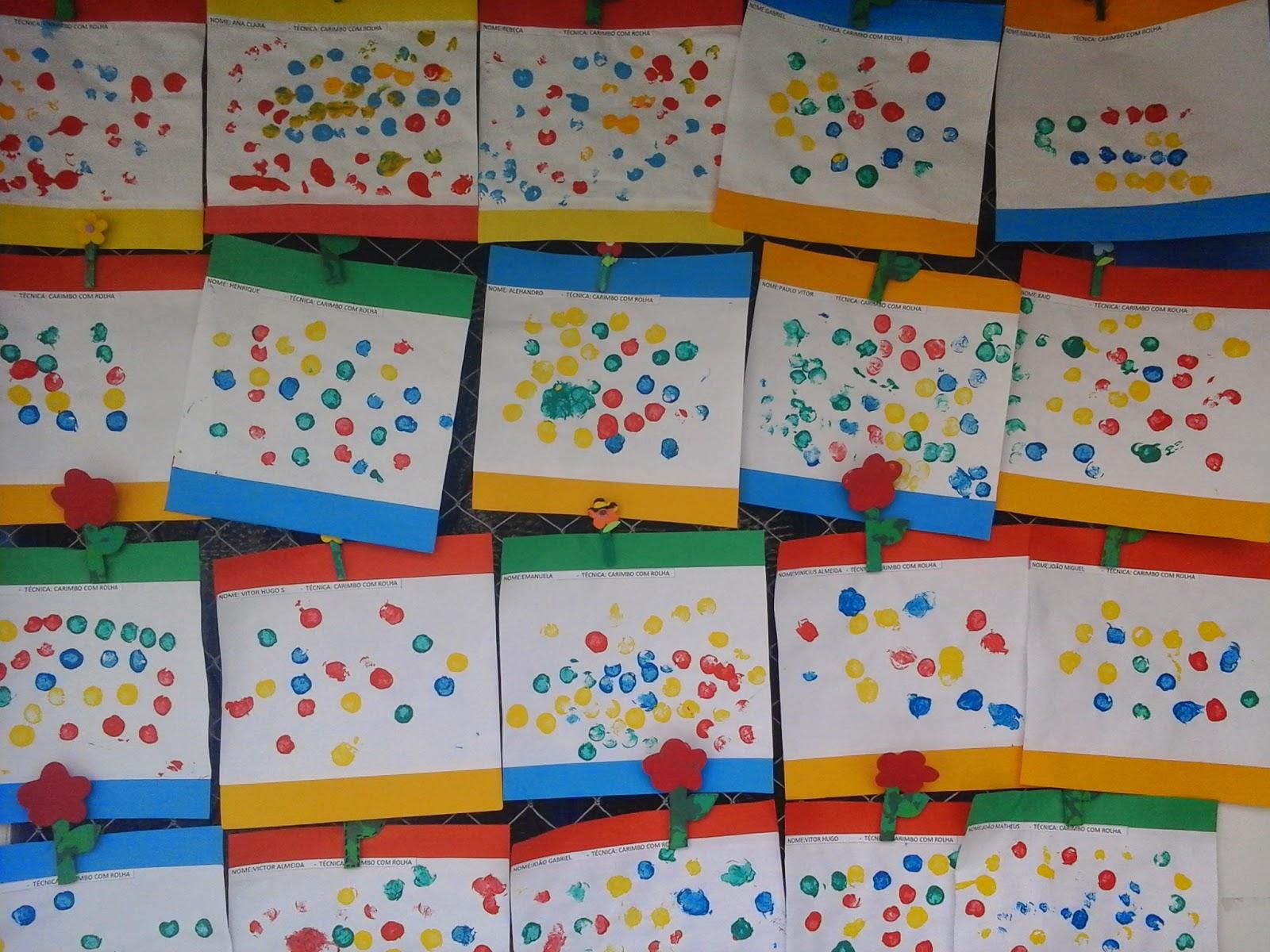 Famosos Diversas técnicas de pintura para a educação infantil | educa sempre HV28