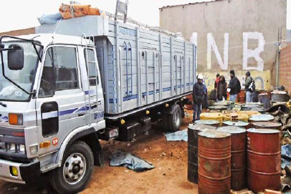 Contrabando en Bolivia