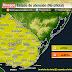 AVISO | Prob. tormentas puntualmente fuertes (Vie 27/11)