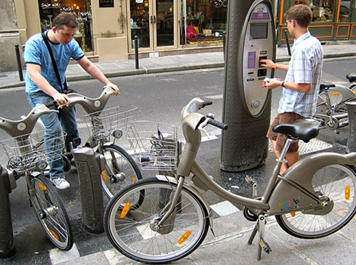 bike sharing Paris