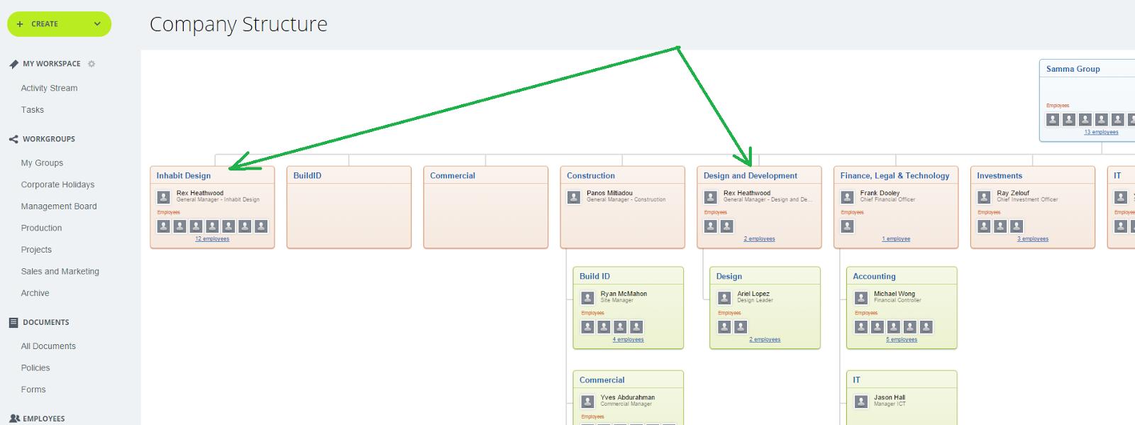 Битрикс24 структура компании из active directory привязка элемента к разделу битрикс