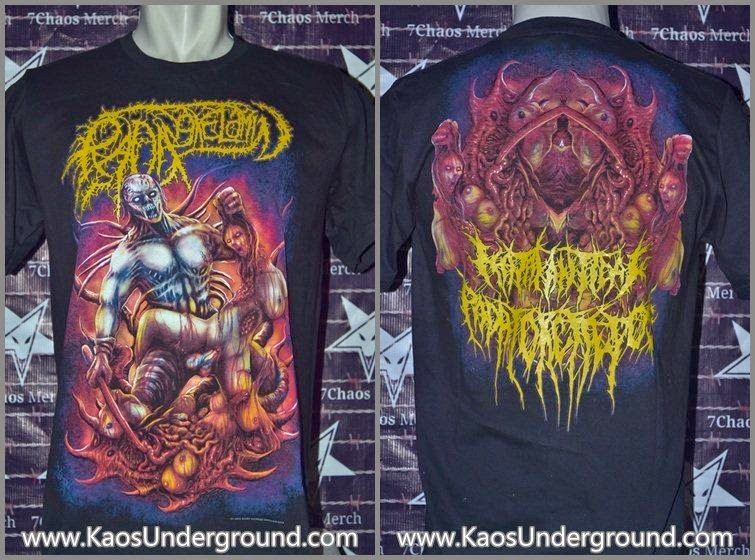 RADANG KELAMIN BAND KAOSUNDERGROUND 7CHAOS MERCH